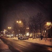 Photo taken at Vokiečių gatvė by Vilius on 2/18/2013