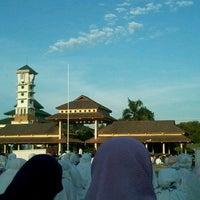 "Photo taken at Masjid ""Agung"" Baiturrahman by Novi P. on 10/14/2013"