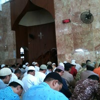 Photo taken at Masjid Nurul Huda by Johan J. on 7/12/2013