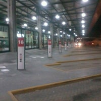 Photo taken at Terminal Rodoviário Internacional de Itajaí (TERRI) by Jaoana O. on 12/26/2012