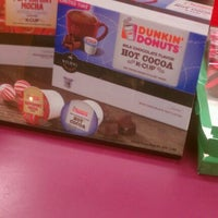 Photo taken at Dunkin' Donuts by Richard D. on 12/18/2012