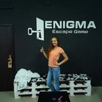 Снимок сделан в Enigma Escape Game | квест кімнати у Львові пользователем Enigma Escape Game | к. 9/16/2015
