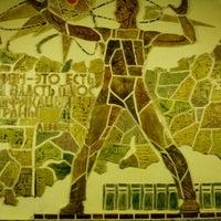 Photo taken at metro Elektrosila by Мария Ш. on 11/28/2012