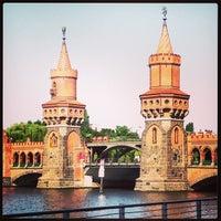 Photo taken at Oberbaumbrücke by Leigh Ann S. on 6/19/2013