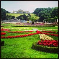6/23/2013 tarihinde Leigh Ann S.ziyaretçi tarafından Schloss Schönbrunn'de çekilen fotoğraf