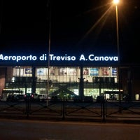 Photo taken at Treviso-Sant'Angelo Airport (TSF) by Andrea Z. on 2/10/2013