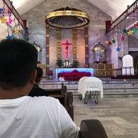 Photo taken at Sto. Thomas de Villanueva Parish (Danao City Church) by Ghio G. on 12/27/2016