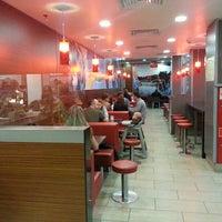 Снимок сделан в McDonald's пользователем Gundorova A. 7/21/2013