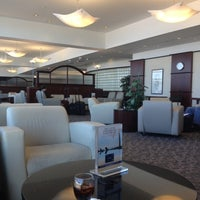 Photo taken at United Club by Mark F. on 9/18/2013