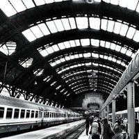 Photo taken at Milano Centrale Railway Station by Giulio T. on 7/12/2013
