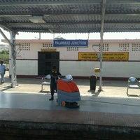 Photo taken at Palakkad Junction (Railway Station) by Taju A. on 12/14/2012