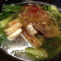 Photo taken at 塩ラーメン専門店 汐家 by Naoto U. on 6/22/2012