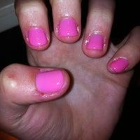 Photo taken at Zizi PediSpa & Nails by Natalie P. on 1/21/2012