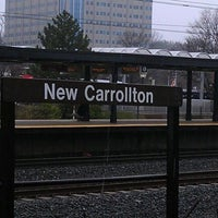 Photo taken at New Carrollton Metro Station by Spenser P. on 12/7/2011