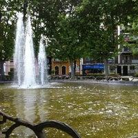 Photo taken at Parque Catarina Eufémia by Ricardo S. on 5/12/2012