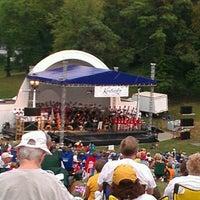 Photo taken at Devou Park Band Shell by Lynda P. on 7/8/2012