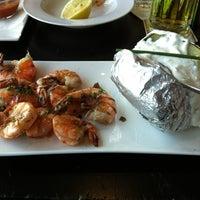 Photo taken at Rheingold Riverside Bar & Restaurant by Luca S. on 8/6/2012