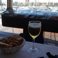 Photo taken at Restaurante Santi by Martin F. on 4/17/2012