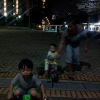 Photo taken at Tampines Festival Park by Sarah M. on 2/26/2012