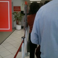 Photo taken at Banco Santander by Emmanuel V. on 5/30/2012