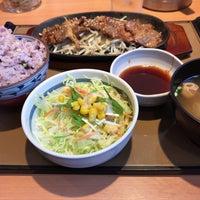 Photo taken at やよい軒 早稲田店 by fudeji t. on 3/20/2017