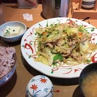 Photo taken at やよい軒 早稲田店 by fudeji t. on 5/1/2017