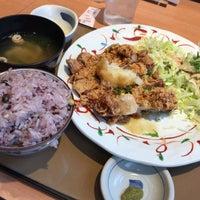 Photo taken at やよい軒 早稲田店 by fudeji t. on 3/12/2017