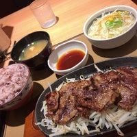 Photo taken at やよい軒 早稲田店 by fudeji t. on 4/9/2017