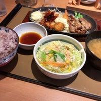 Photo taken at やよい軒 早稲田店 by fudeji t. on 3/18/2017