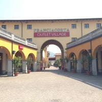 Photo taken at Franciacorta Outlet Village by Vincenzo C. on 7/2/2013