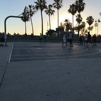 Photo taken at Venice Beach Basketball Courts by Fahad A. on 5/21/2017