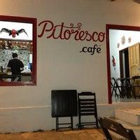 Photo taken at Pitoresco - Arte & Café by Rafael M. on 1/4/2013