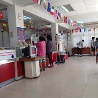 Photo taken at Post Office Rawai by Ruechapon K. on 6/9/2014