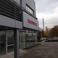 Photo taken at Honda Ukraine by Andrew S. on 10/11/2013