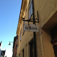 Photo taken at da Matteo by Pascal on 2/20/2013