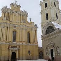 Photo taken at Vilniaus universiteto Filologijos fakultetas by Povilas D. on 12/7/2012