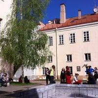 Photo taken at Vilniaus universiteto Filologijos fakultetas by Povilas D. on 5/9/2013