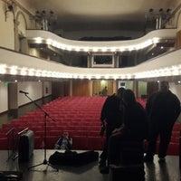 Photo taken at Teatro Trinidad Guevara by Antonela V. on 5/11/2014