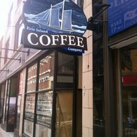 Photo taken at Erie Island Coffee Company by Juniper E. on 5/18/2013