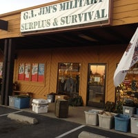 Photo taken at GI Jims Military Surplus by Chrissie T. on 11/25/2012