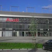 Photo taken at Audi Sportpark by Kemal E. on 5/22/2013