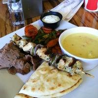 Photo taken at Daphne's Greek Cafe by Lynne W. on 12/28/2012