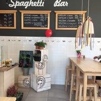Photo taken at Spaghetti Bar NIKO by Anna K. on 6/20/2017