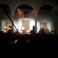 Photo taken at Palais Ennejma Ezzahra (Dar El-Baron d'Erlanger) by Omar K. on 12/20/2013