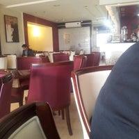 Photo taken at Mozart Café by Omar K. on 1/16/2013