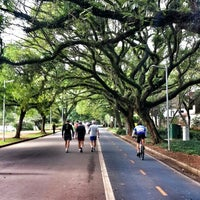 Photo taken at Ibirapuera Park by Andrés R. on 11/8/2013