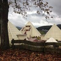 Photo taken at Sauerland Pyramiden by Jan G. on 10/17/2013