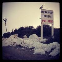 Photo taken at Playa  Saldamando by Freda M. on 9/4/2013