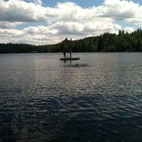 Photo taken at Gilmore Pond by Brenda R. on 8/11/2013
