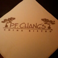 Photo taken at P.F. Chang's by Erika G. on 12/4/2012